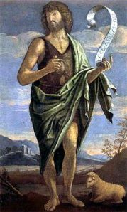 John the Baptist by Bartolomeo Veneto, 16th century