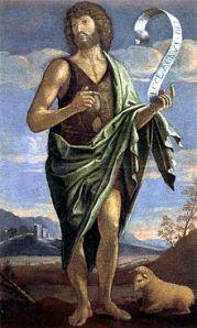 John the Baptist by Bartolomeo Veneto, 16th century
