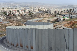 Israeli separation wall isolates Palestinian areas