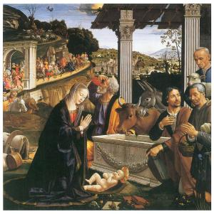 Nativity by Domenico Ghirlandaio